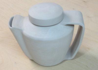 Oeuvre originale Zaichik-DIY théière en céramique