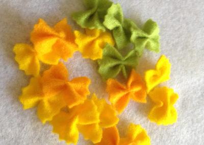 dinette en feutrine farfalles Zaichik-DIY