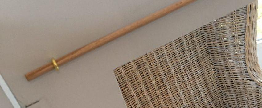 tringle pour les rideaux du DIY théâtre de marionnettes Zaichik-DIY