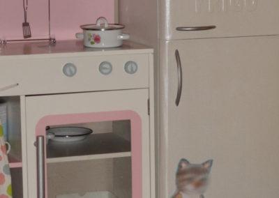 Cartonnage frigo jouet en carton création originale Zaichik-DIY