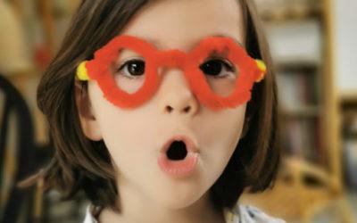 Jeu d'imitation : stand de jeu l'opticien lunetier – DIY